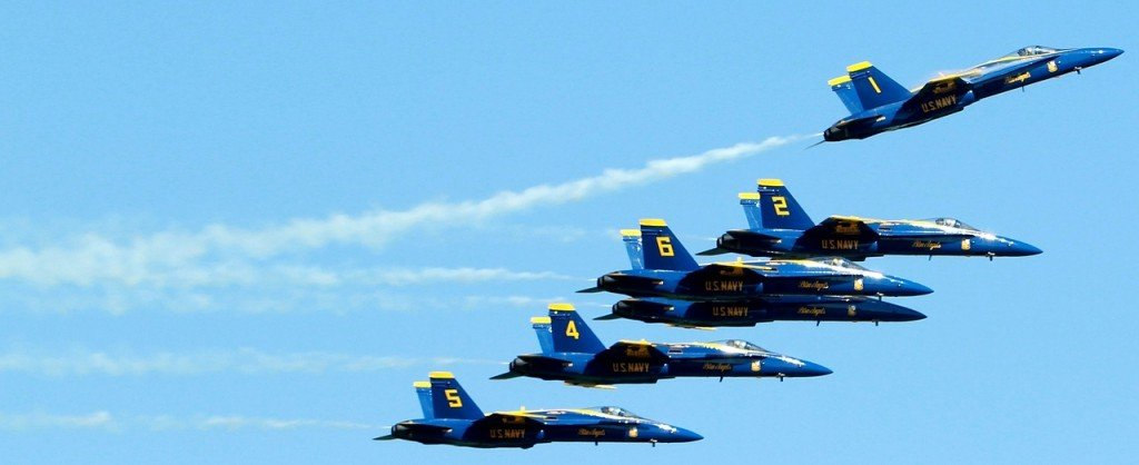 Blue Angels Fighter Jets