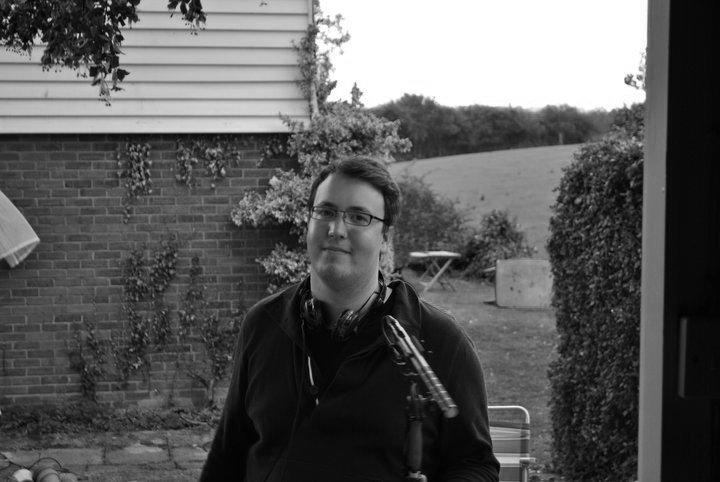 Michael F Bates_On set_OD_BW