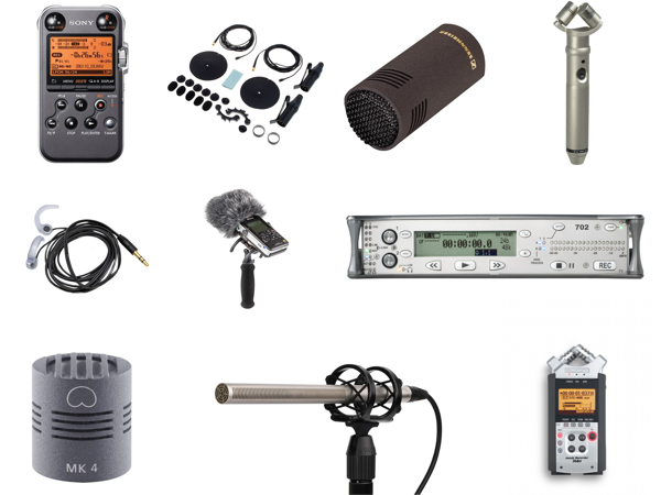 Field recording equipment