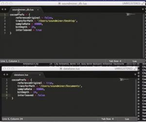 Database Action Scripts auto-select prefs