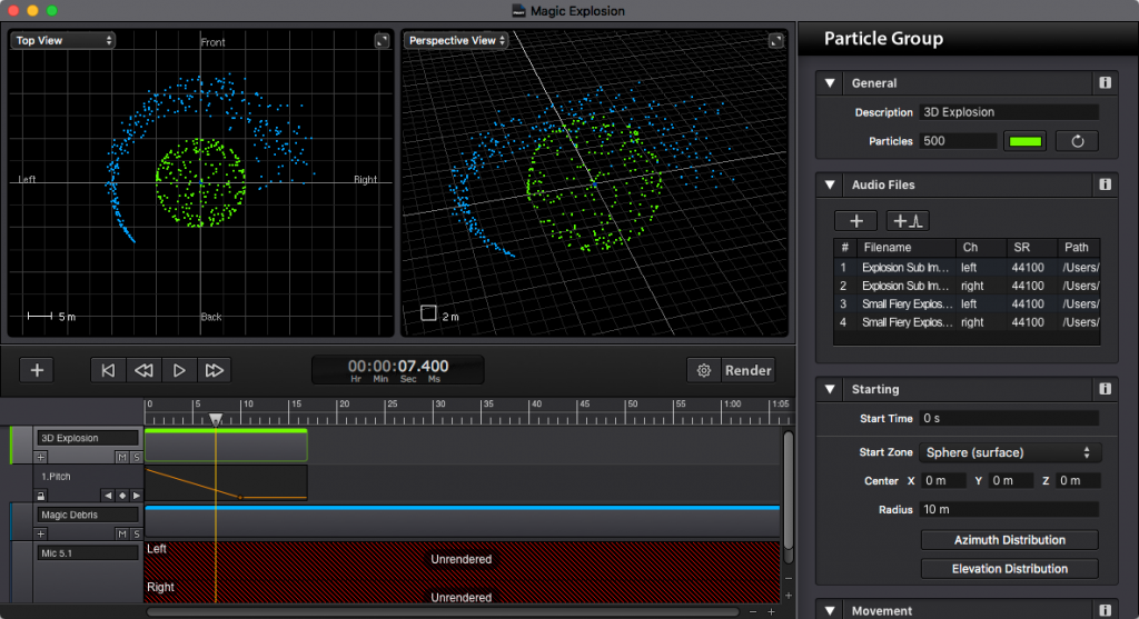 Sound Particles Screen Shot 1