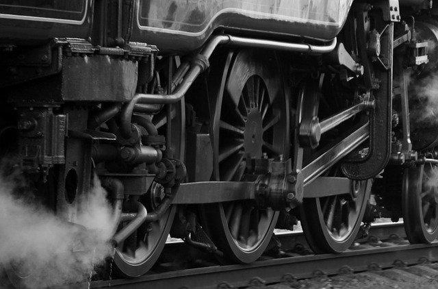 Steam Train - Wheels