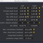 RX3 Waveform Statistics