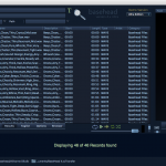 Viewing all records and the PeakTree import item