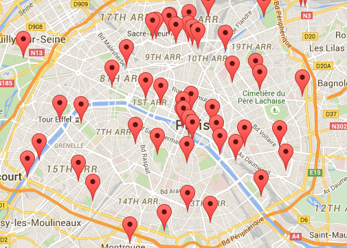 Des Coulomb's Paris Sound Map (click to visit)