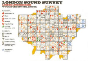 London Sound Survey grid system