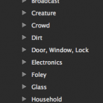 Soundly 6 Library Categories 1