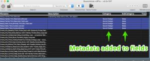 Metadata has been applied!