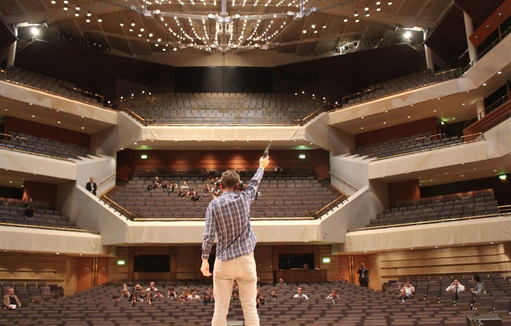 Professor Cox at Bridgewater Hall