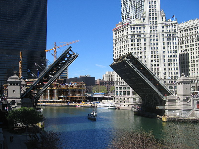Michigan Avenue bridge, © Jeremy Atherton, 2007