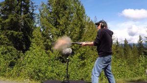 Frank Bry recording shotgun sound fx