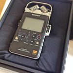 Sony PCM D100 Box 0 Recorder Angle