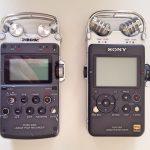 Sony PCM D100 D50 D100 Front