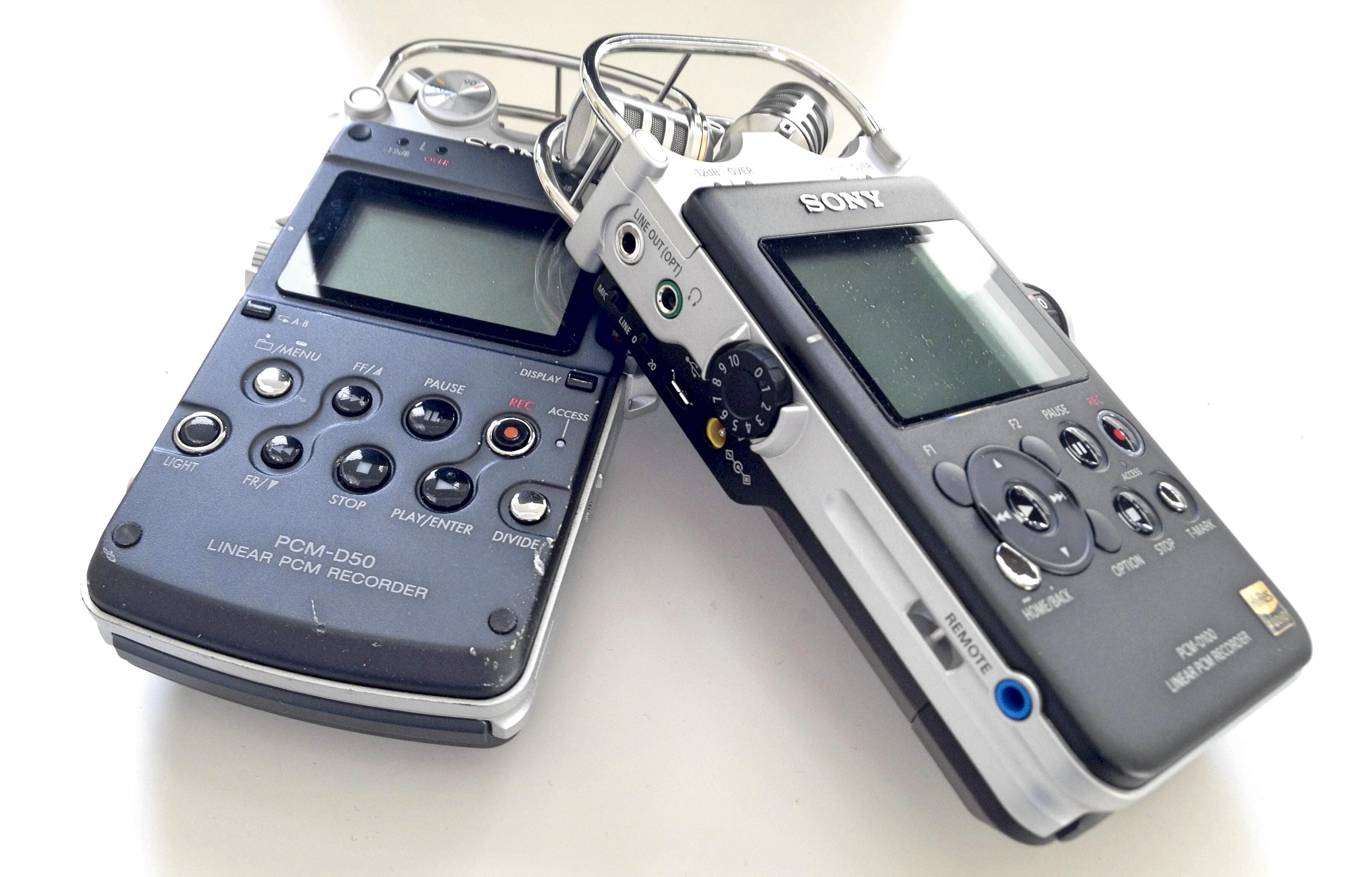 Sony pcm-d50 manual