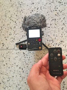 Sony PCM-D100 Remote and IR Fob