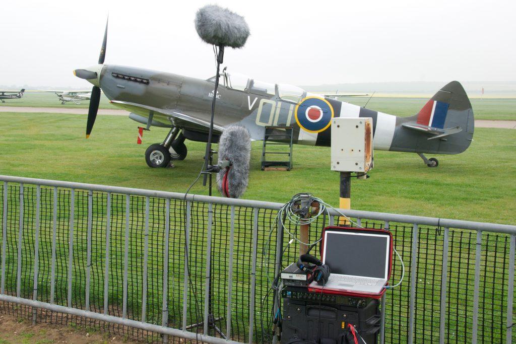 John Leonard Spitfire with ST250 TetraMic ULN 8