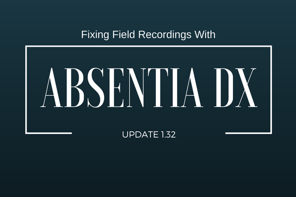Noise Reduction App Absentia DX Adds Crickets, Doppler Engine Reduction