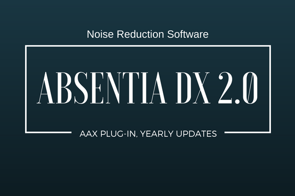 TODD-AO Updates Noise Reduction App Absentia with Plug-In, Yearly Updates