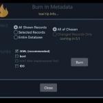 BaseHead Burn In Metadata