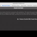 Prefs 4 Watched Folders