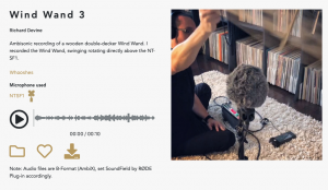 Ambisonic Sound Library Sound