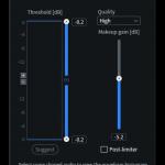 Interface Slider RX 8