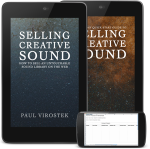 Selling Creative Sound e-Book Now Available!