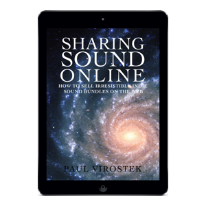 Sharing Sound Online iPad Air Black