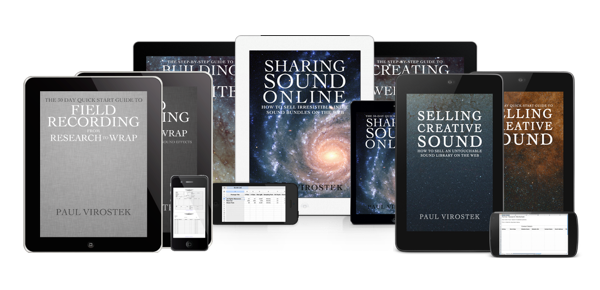 Announcing Discounted Field Recording e-Book Combo Packs